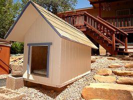 Fácil de construir Plan de la caseta de perro