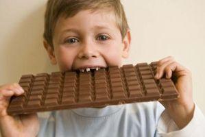 Suministros para hacer dulces de chocolate