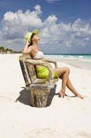 Cómo mantener un bronceado sin sol en la playa