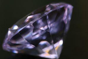 ¿Cómo son los diamantes corte para hacer la joyería?