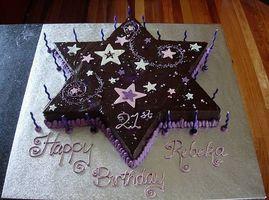 Cómo hacer un pastel en forma de Estrellas