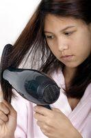 Cómo secar con secador de pelo recto