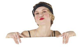 Cómo hacer su maquillaje como en la década de 1920