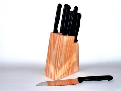 Cómo afilar cuchillos Santoku