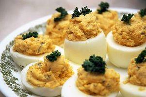 Cómo hacer Huevos Rellenos