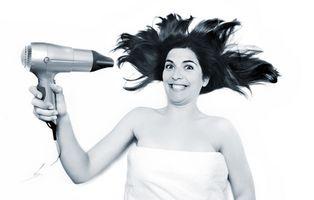 Cómo tratar en seco, Brillo del cojín del pelo