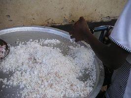 Vida útil de coco rallado
