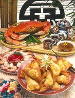 Lo que es bueno para comer con carne de cangrejo?