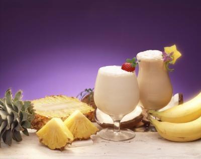 Hawaiian bebidas de ron