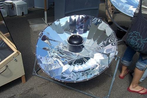 ¿Cuáles son Cocinas solares?