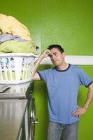 Cómo quitar las manchas de tinte de transferencia de la ropa después del secado