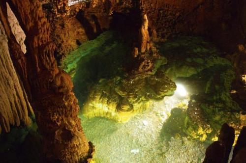 Visitar las cavernas de Luray en Virginia