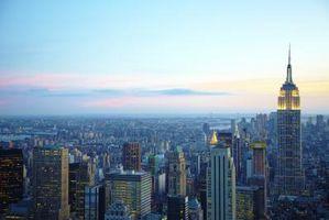 Las más grandes ciudades en los EE.UU.