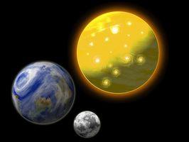 Sol, la Luna y Estrellas Ideas tarta
