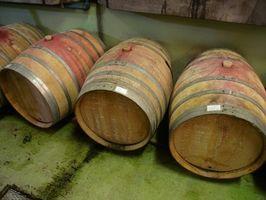 Partes de un barril de vino