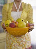 Aperitivos para los niños que se hacen con fruta