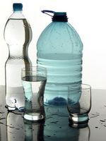 Cómo congelar una botella de agua