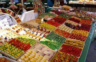 Cómo hacer confitada fruta mezclada