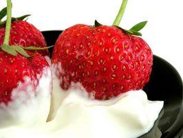 Signos de deterioro en crema agria