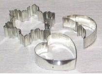 Cómo hacer la galleta y cortadores de la torta Fuera de aluminio
