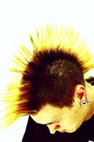 Los peinados asimétricos para Hombres