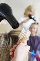 Cómo obtener Blow rizos peinados secas