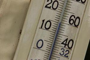 Cómo calcular Celsius a Fahrenheit