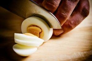Instrucciones para hervir un huevo