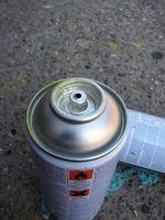Cómo quitar la pintura de aerosol de la ropa