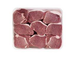 ¿Puedo utilizar bicarbonato de sodio en lugar de harina para hornear chuletas de cerdo?