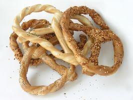 Cómo rellenar un pretzel