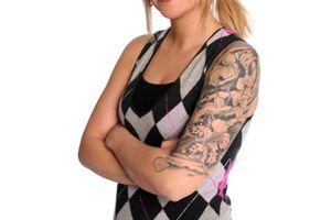 Cómo diseñar un tatuaje de media manga