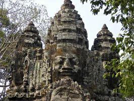 Efectos del turismo sobre Angkor Wat