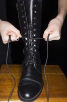 ¿Qué tipo de botas Ir con una capa de carbón guisante?