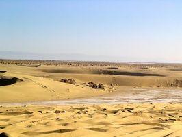 Los desiertos calientes en el mundo