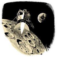 Las propiedades del hidrógeno líquido y oxígeno en la Luna