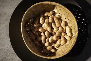 ¿Cuáles son los cacahuetes calientes?