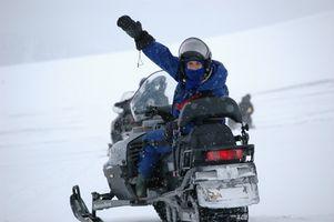 Wisconsin del Sur Resorts Con moto de nieve