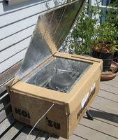 Cómo hacer un horno solar reflectante