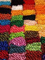 ¿Cómo es de seda hecho en tela?