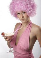 Cómo teñir el pelo de color rosa perla