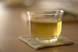 Como su propio sabor del té verde hecho en casa