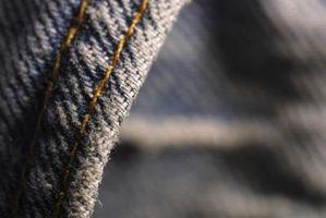 Cómo arreglar jeans que se han reducido