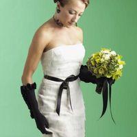 Cómo hacer una faja de raso de novia