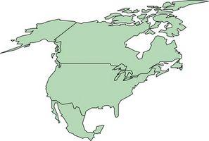 Requisitos de pasaporte americano del Norte