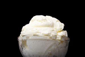 Como la manivela del helado casero