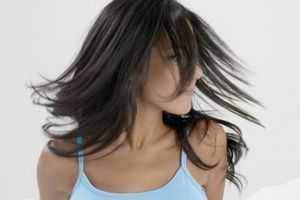 Como el cabello seco sin hacerlo Crespo