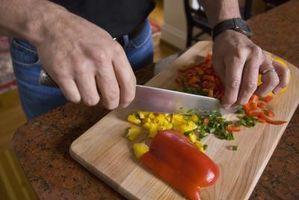 Cómo cortar con un cuchillo de chef