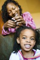 Cómo para texturizar pelo de los niños Natural