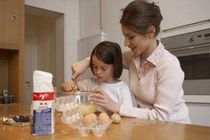 ¿El uso de claras de huevo hacer un pastel de sabor como la harina?
